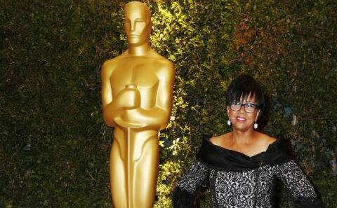 Cheryl Boone Isaacs put in 21 years on the academy's Board of Governors, held every office, and worked three decades in film marketing before she was elected president last summer. (Reuters)