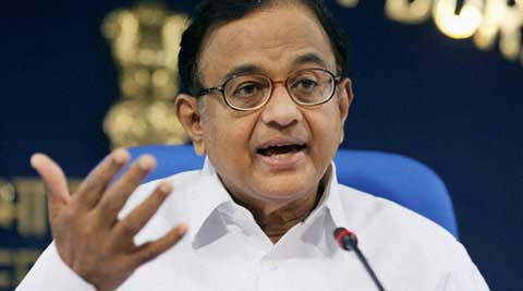 "Chidambaram hit back at Narendra Modi for his ""recount"" dig at him. (PTI Photo)"