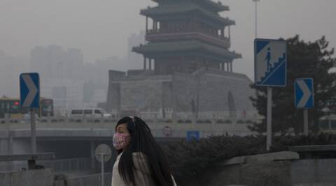 China witnessed its worst smog in many years. (AP)