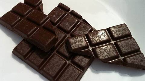 Dark chocolate helps restore flexibility to arteries while also preventing white blood cells from sticking to the walls of blood vessels.