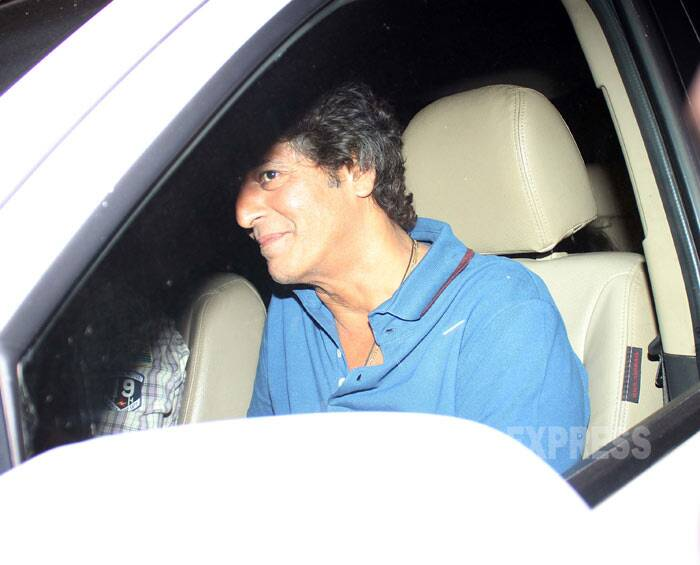 Starry Gunday night: Bollywood biggies watch Ranveer, Priyanka, Arjun's film
