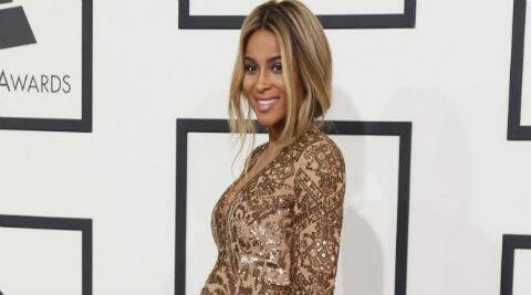 Ciara recently announced that she is expecting her first child with Future. (Reuters)