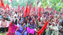 CITU holds dharna