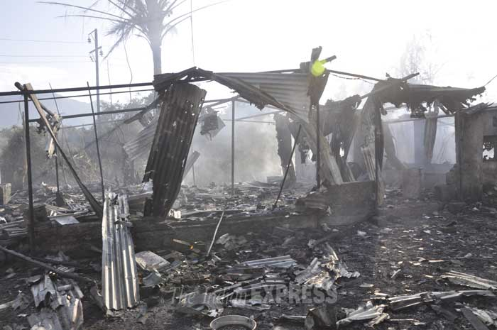 The explosion took place around 4.30 pm at the Bhaimala village factory, 10 kms from Alibaug town, they said. (IE Photo)