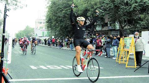 The Cyclothon event organised in the Ahmedabad witnessed more than 5,000 cyclists from across states, professions, gender and age. (Javed Raja)