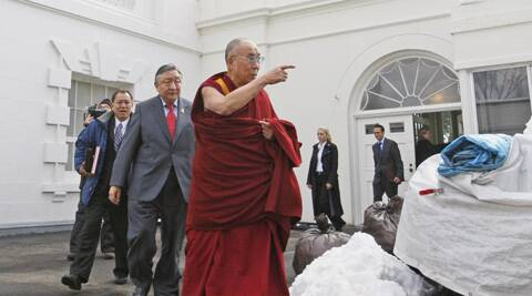 US President Barack Obama met with the Dalai Lama in Washington. (AP)