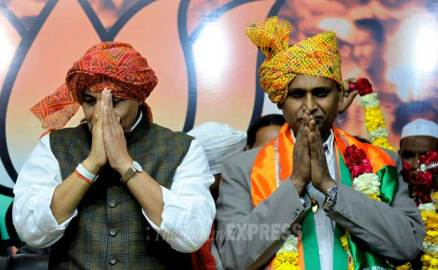 Dalit leader Udit Raj joins BJP