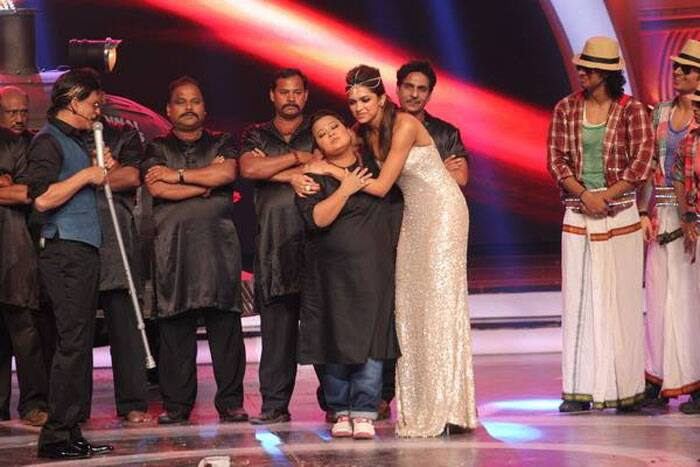Bharti finds a fan in Deepika Padukone. (Photo: Facebook)