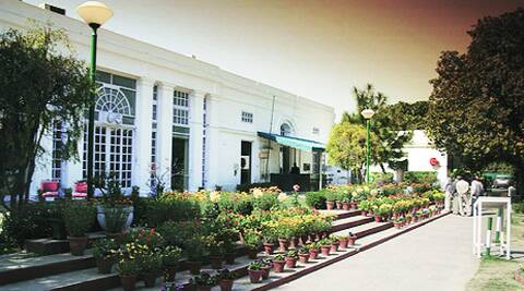 Police said the man was a member of Lucknow Gymkhana Club and, hence, had entry to Delhi Gymkhana Club (above)
