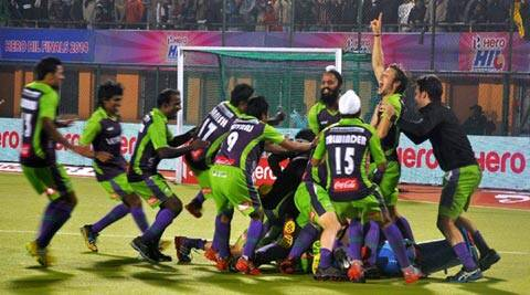 With a 3-1 win in the shootouts over Punjab Warriors, Delhi Waveriders won the second edition of the Hockey India League (PTI)