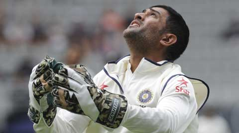 Under Dhoni's captainship, India  have now lost 10 out of their last 11 overseas Test matches. (AP)