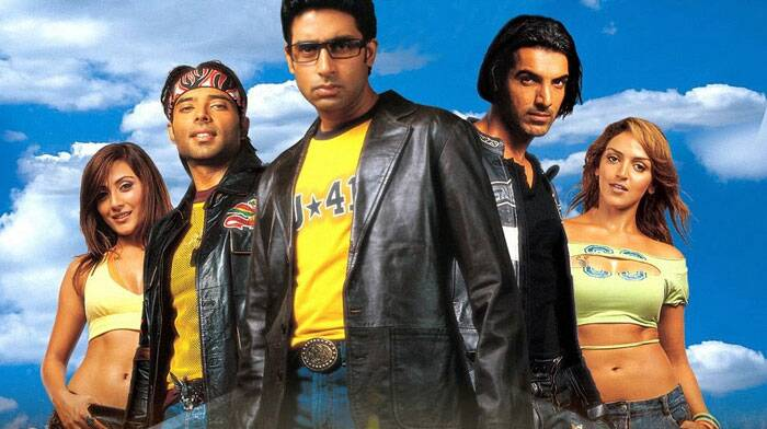 That same year, Abhishek Bachchan appeared in Yash Raj Films' 'Dhoom' along with John Abraham, which went on to become a huge commercial hit. The film earned over Rs. 55 crores, becoming one of the top-grossing Indian films of 2004.