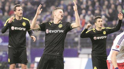 Dortmund and Zenit scrapped into the knockout round in contrasting fashion, with 12 and 6 points respectively (AP)