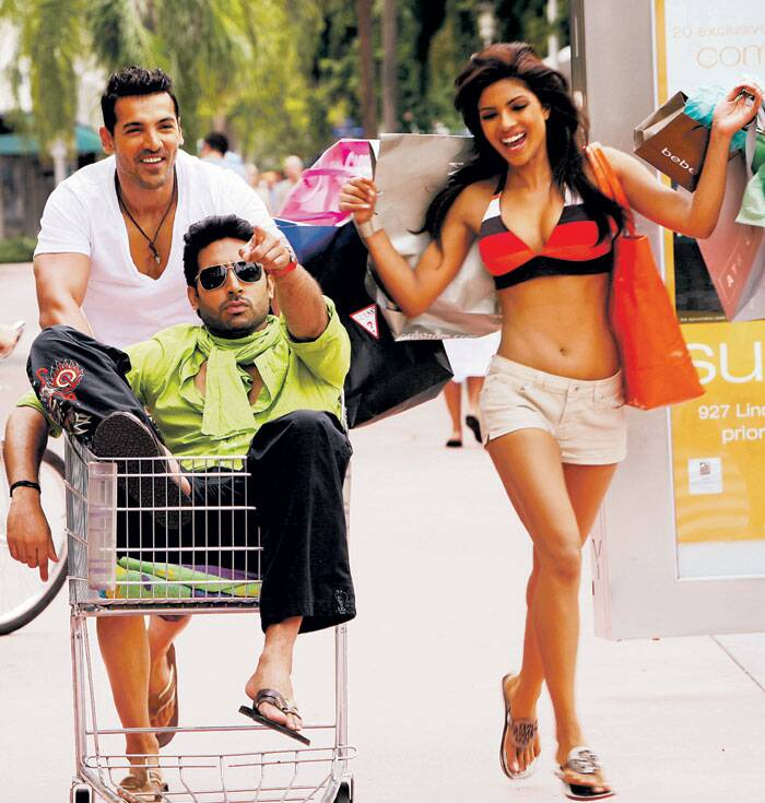Abhishek's last release of 2008, 'Dostana' with John Abraham and Priyanka Chopra, was a huge hit and became one of the highest grossing films of the year. Abhishek and John played fake gay partners in the movie, that was a big success overseas as well.