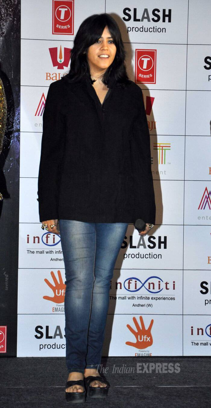 Ekta Kapoor, who has shed off tremendous weight, looks trendy in semi-formals. (Photo: Varinder Chawla)