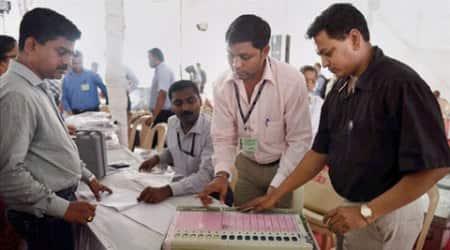 Punjab polls, Punjab elections, Punjab election 2017, Punjab voting, Punjab election voting, Punjab government, Punjab election security, indian express news