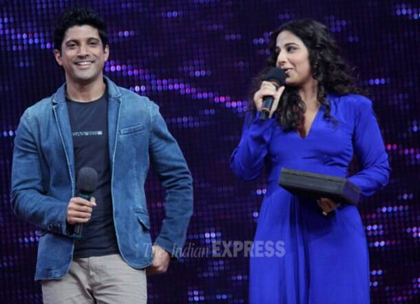 Farhan, Vidya begin their filmi business