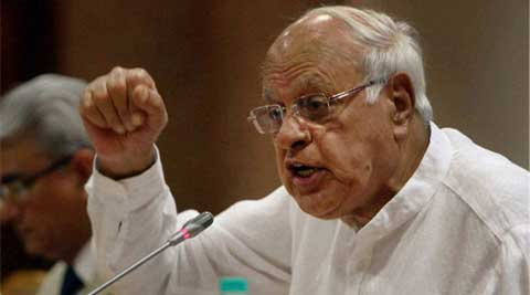 "Farooq Abdullah said that people have understood that Modi is a ""dictator"". (PTI)"