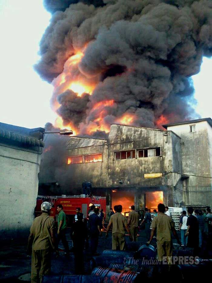 Major fire guts Ceat tyre unit, disrupts train services