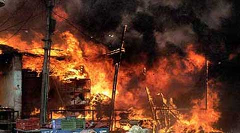 Investigation has been ordered to find out the exact cause of the fire and damages. (Photo: PTI)