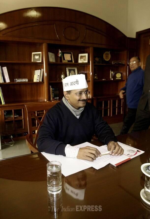 Arvind Kejriwal government's journey through 48 days