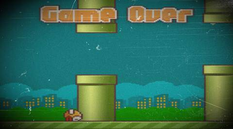 Flappy Bird was reportedly raking in ,000 a day