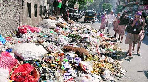 The problem of garbage piling up across the city may trouble residents in future too.