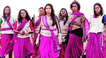 Bollywood version of the women crusaders led by Madhuri Dixit in Gulaab Gang