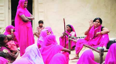 'Gulabi Gang' is based on the life of a child bride.