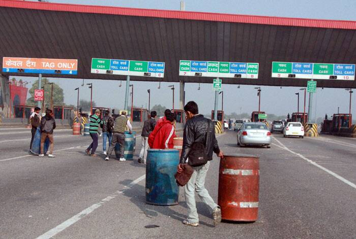 Delhi-Gurgaon toll plaza removed