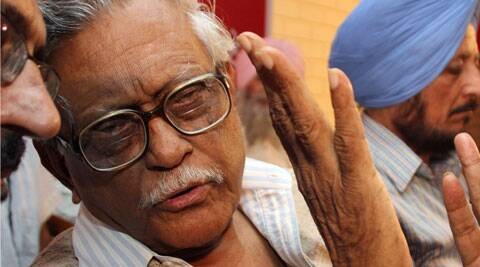 78-year-old Dasgupta worked as a parliamentarian for 25 years. (Express Archive)