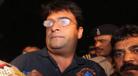 BCCI chief N Srinivasan's son-in-law Gurunath Meiyappan.