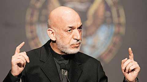 Afghan President Hamid Karzai says he wants limited NATO troops. (AP)