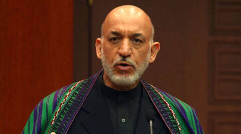 Hamid Karzai has been in touch with the Taliban about reaching a peace agreement without the involvement of American and Western allies. (AP)