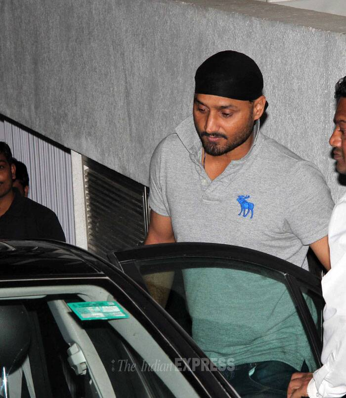 There has been much speculation about Harbhajan's romantic equation with Geeta. (Photo: Varinder Chawla)
