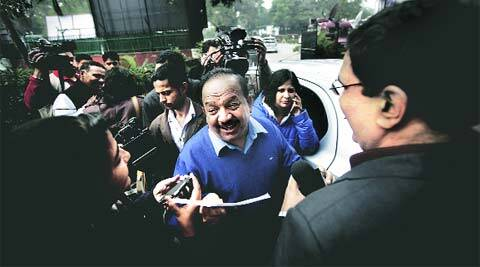 A practising ENT surgeon, Harsh Vardhan is an old hand at the job.