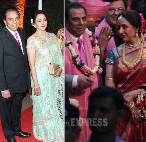 Dharmendra Hema Malinis Daughter Ahana Ties The Knot Stepbrothers