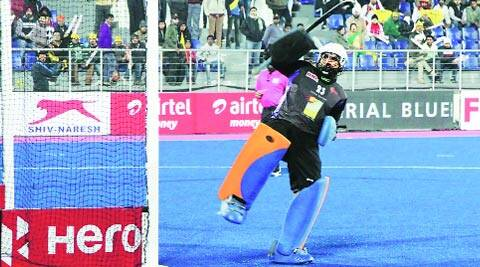 Kalinga Lancers' Harjot Singh is the only Indian keeper to get significant playing time in the HIL this season