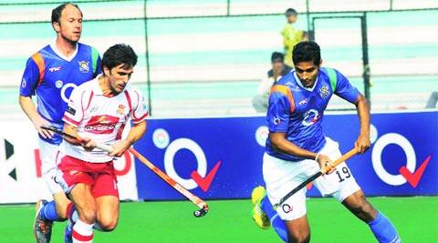 Nithin Thimmaiah scored the first goal of the match for Wizards