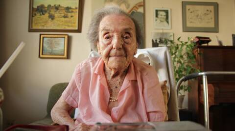 Alice Herz-Sommer, an accomplished pianist and music teacher, spent two years in a Nazi concentration camp in Terezin. (AP)