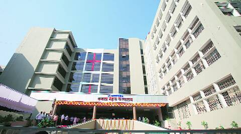 Kamla Nehru Hospital in Mangalwar Peth. (File)