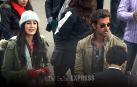 Katrina Kaif, Hrithik Roshan get busy with 'Bang Bang'
