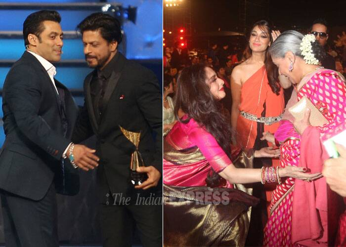Bollywood actors and actresses seem to be putting aside their egos to mark a new era in the tinsel town! After the much talked about patch up between the film fraternity's superstars – Rekha, Jaya Bachchan and Shah Rukh Khan, Salman Khan – actors like Anushka Shama and Deepika Padukone; Deepika and Katrina are also breaking the ice. Take a look!