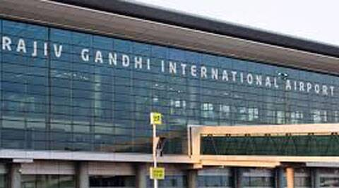A letter threat has come to the Hyderabad airport a day after Parliament passed the Telangana bill.