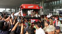 PHOTOS: ATK celebrate maiden ISL title win with fans in Kolkata