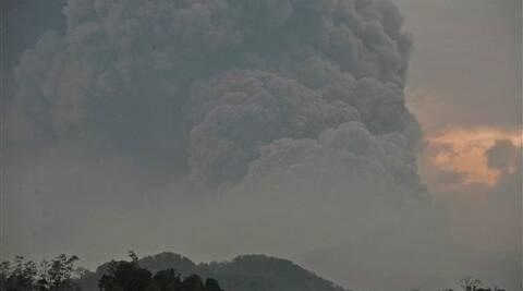 The last major eruption at Kelud was in 1990, when it kicked out searing fumes and lava that killed more than 30 people and injured hundreds. (AP)