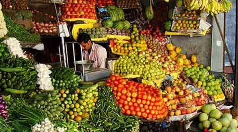 India's wholesale prices-based inflation in April slowed to a two-month low of 5.20 pct.
