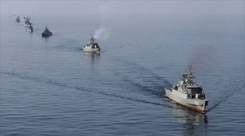 "Fars news agency said the plan was part of 'Iran's response to Washington's beefed up naval presence in the Persian Gulf""(Photo: Reuters)"