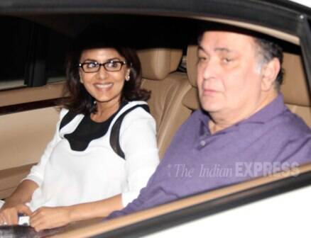 Ranbir Kapoor's parents watch Alia Bhatt's 'Highway'