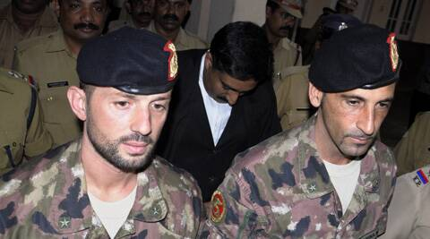 Italian Marines Massimiliano Latorre and Salvatore Girone, allegedly shot dead the two fishermen on February 15, 2012 off Kerala coast. (AP)